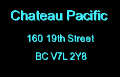 Chateau Pacific 160 19TH V7L 2Y8