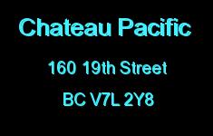 Chateau Pacific 160 19TH V7L 2Y8