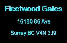 Fleetwood Gates 16180 86 V4N 3J9