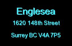 Englesea 1620 148TH V4A 7P5
