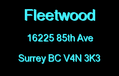 Fleetwood 16225 85TH V4N 3K3