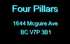 Four Pillars 1644 MCGUIRE V7P 3B1