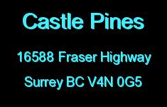 Castle Pines 16588 FRASER V4N 0G5