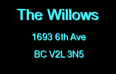 The Willows 1693 6TH V2L 3N5