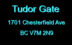 Tudor Gate 1701 CHESTERFIELD V7M 2N9