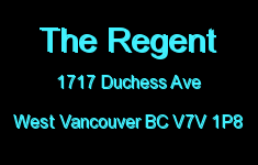 The Regent 1717 DUCHESS V7V 1P8