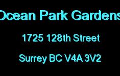 Ocean Park Gardens 1725 128TH V4A 3V2
