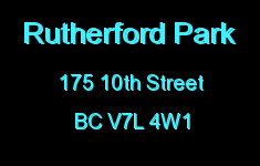 Rutherford Park 175 10TH V7L 4W1