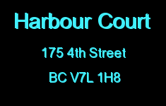 Harbour Court 175 4TH V7L 1H8