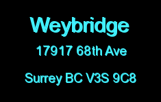 Weybridge 17917 68TH V3S 9C8
