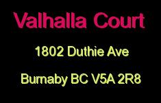 Valhalla Court 1802 DUTHIE V5A 2R8
