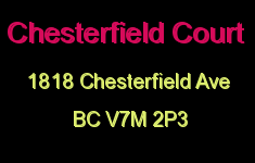 Chesterfield Court 1818 CHESTERFIELD V7M 2P3