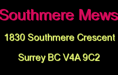 Southmere Mews 1830 SOUTHMERE V4A 9C2
