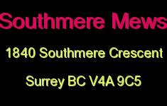 Southmere Mews 1840 SOUTHMERE V4A 9C5