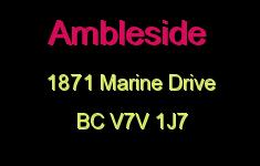 Ambleside 1871 MARINE V7V 1J7
