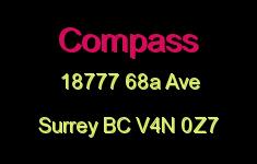 Compass 18777 68A V4N 0Z7