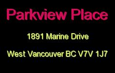 Parkview Place 1891 MARINE V7V 1J7