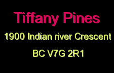 Tiffany Pines 1900 INDIAN RIVER V7G 2R1
