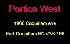 Portica West 1966 COQUITLAM V3B 7P8