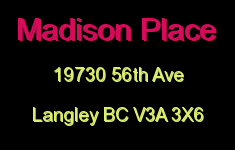 Madison Place 19730 56TH V3A 3X6
