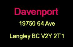 Davenport 19750 64 V2Y 2T1