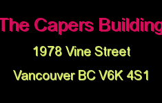 The Capers Building 1978 VINE V6K 4S1