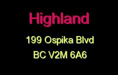 Highland 199 OSPIKA V2M 6A6