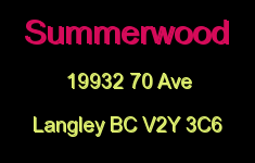 Summerwood 19932 70 V2Y 3C6