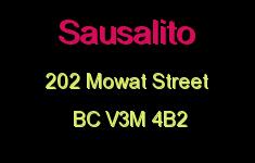 Sausalito 202 MOWAT V3M 4B2