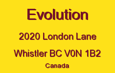 Evolution 2020 LONDON V0N 1B2