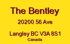 The Bentley 20200 56 V3A 8S1