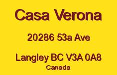Casa Verona 20286 53A V3A 0A8