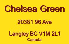 Chelsea Green 20381 96 V1M 2L1