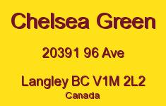 Chelsea Green 20391 96 V1M 2L2
