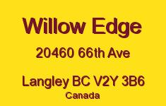 Willow Edge 20460 66TH V2Y 3B6