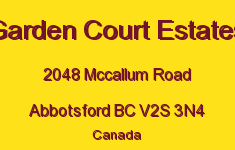 Garden Court Estates 2048 MCCALLUM V2S 3N4