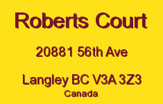 Roberts Court 20881 56TH V3A 3Z3