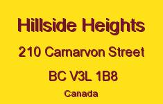 Hillside Heights 210 CARNARVON V3L 1B8