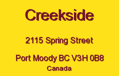 Creekside 2115 SPRING V3H 0B8