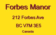 Forbes Manor 212 FORBES V7M 3E5
