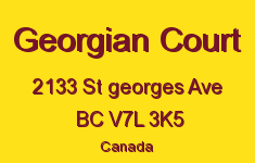 Georgian Court 2133 ST GEORGES V7L 3K5