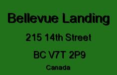 Bellevue Landing 215 14TH V7T 2P9