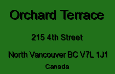 Orchard Terrace 215 4TH V7L 1J1