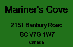 Mariner's Cove 2151 BANBURY V7G 1W7