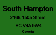 South Hampton 2168 150A V4A 9W4