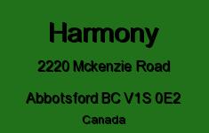 Harmony 2220 MCKENZIE V1S 0E2