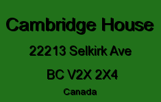 Cambridge House 22213 SELKIRK V2X 2X4