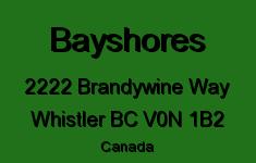 Bayshores 2222 BRANDYWINE V0N 1B2