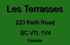 Les Terrasses 223 KEITH V7L 1V4