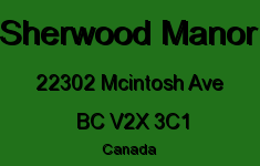 Sherwood Manor 22302 MCINTOSH V2X 3C1